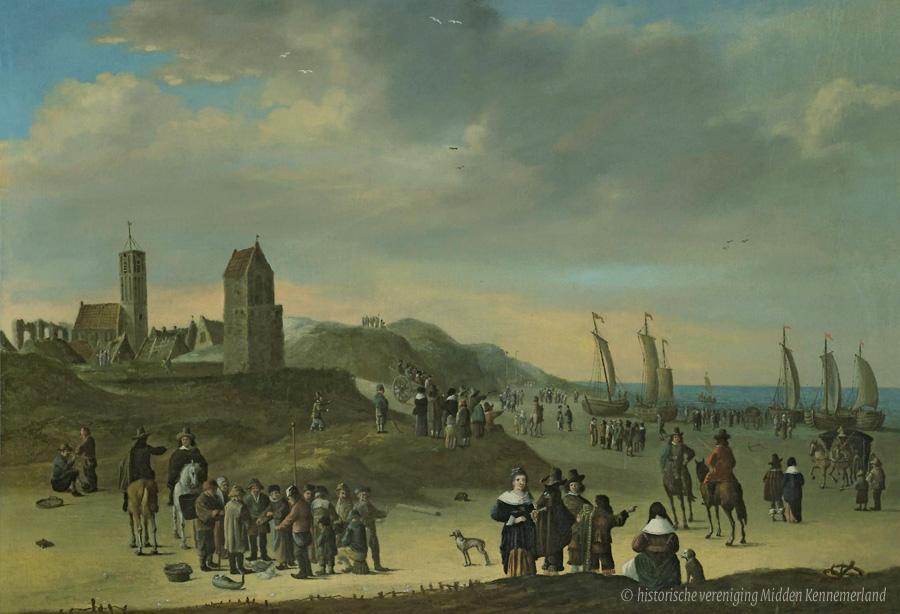 Cornelis Beelt_1670-fc oudste schilderij van wijk aan zee 0E - kopie